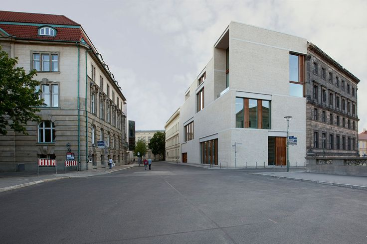 Am Kupfergraben 10 - Berlin, Germany. Photo: Ute Zscharnt for David Chipperfield Architects