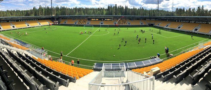 seinajoki omasp stadion architettura