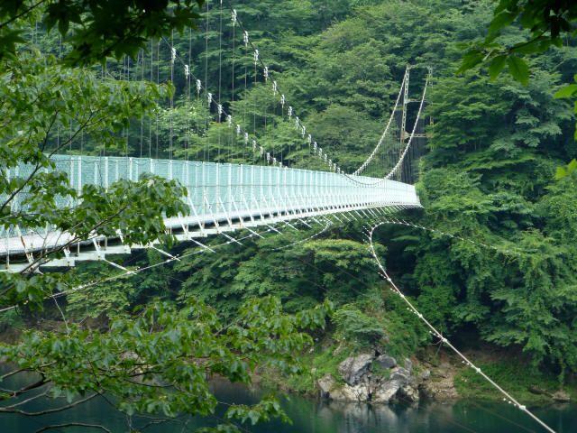 大洞川吊橋8