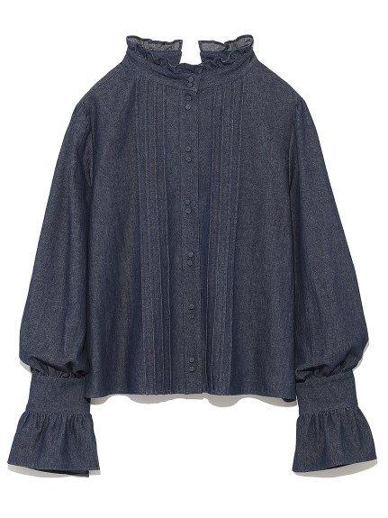 2WAYスタンドカラーブラウス(ブラウス) snidel(スナイデル) ファッション通販 ウサギオンライン公式通販サイト