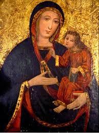 Znalezione obrazy dla zapytania matka boska częstochowska opis obrazu