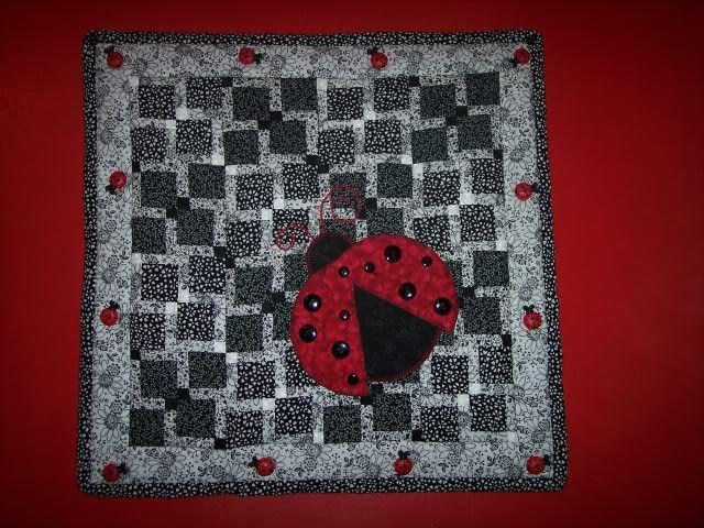 227 best ladybug quilt images on Pinterest | Lady bug, Ladybug and ... : lady bug quilts - Adamdwight.com