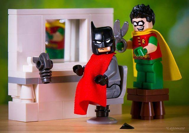 """Haircut.... 😆✂"" 🌟🌟🌟🌟🌟🌟🌟🌟🌟🌟🌟🌟🌟 Congratulations to the LEGO HUB Photographer of the Day: . 👉👉 @legomeee48 👈👈 . 🌟🌟🌟🌟🌟🌟🌟🌟🌟🌟🌟🌟🌟 Tag your LEGO photos: #lego_hub . #lego #afol #legoland #legomania #toycrewbuddies #tcb #legominifigures #instalego #minifig #minifigures #brickcentral #bricknetwork #toyphotography #toyunion #toys #legophotography #toyartistry #batman #haircut"