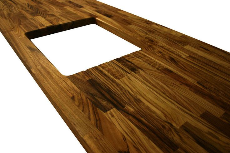 how to cut kitchen worktop for sink