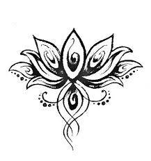Afbeeldingsresultaat voor tatoeages lotusbloem