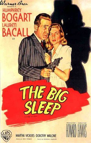 Films with fashion influence - 1946 The Big Sleep poster