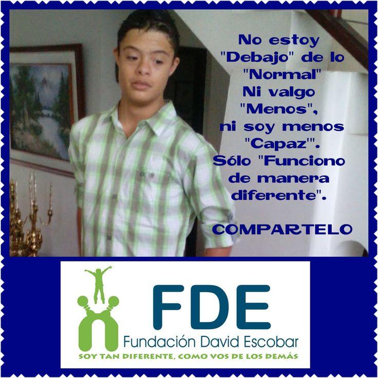 Marzo9 #dia9 #diamundialdelsindromededown #fundaciondavidescobar #diversidad