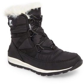 Sorel Girl's Whitney Short Lace Waterproof Insulated Boot