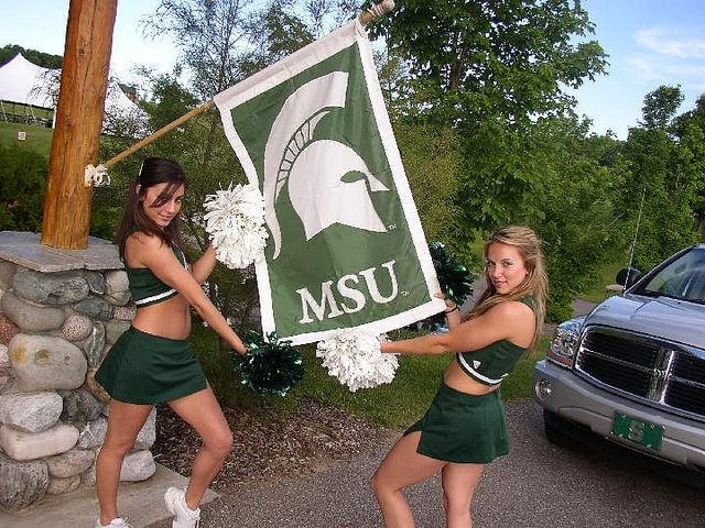 Seems Michigan state spartans cheerleaders sorry