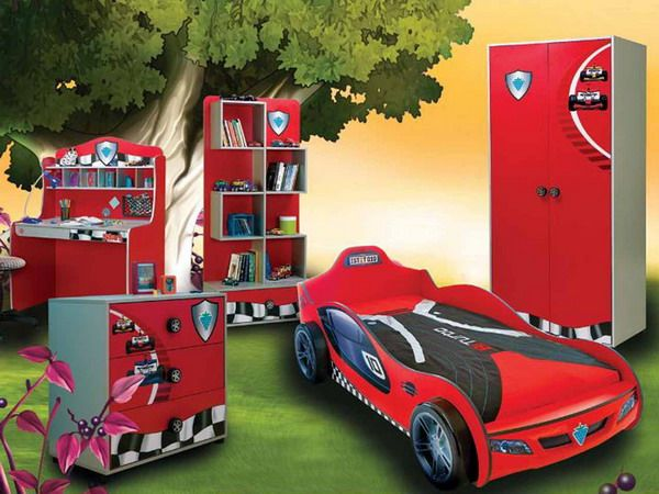 45 Car-Shaped Beds for Kids Bedroom Ideas_14, Photo  45 Car-Shaped Beds for Kids Bedroom Ideas_14 Close up View.