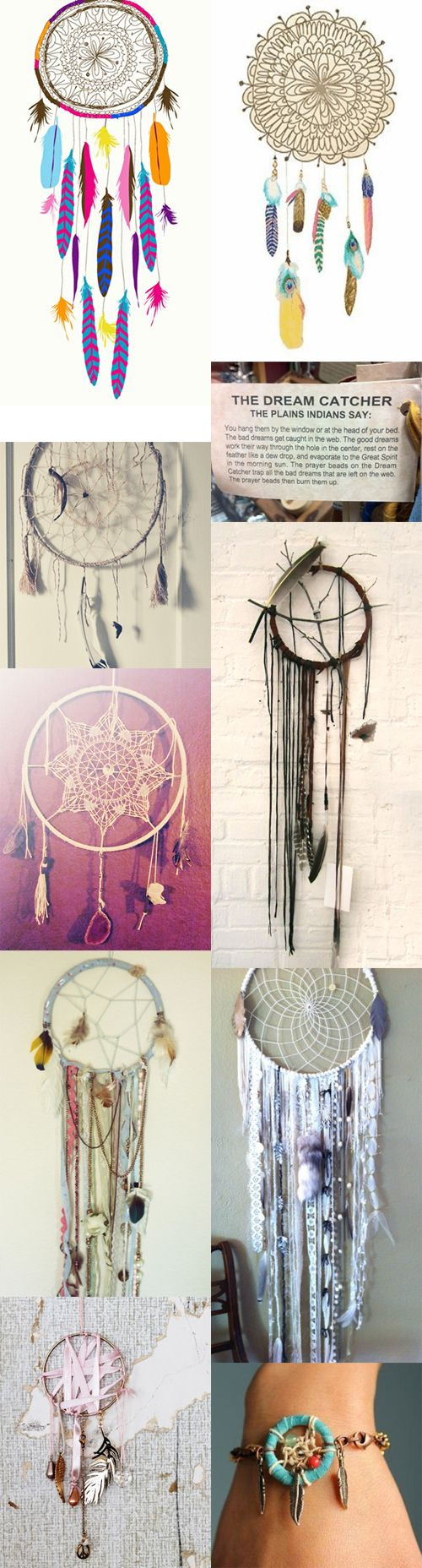 as everyone may know, I am OBSESSED with, and collect dream catchers :)
