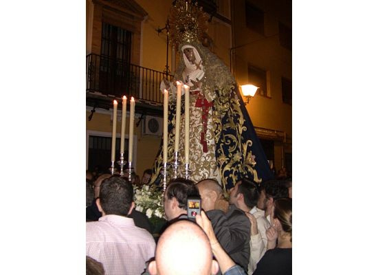 A sneak preview of the practice for Semana Santa. We will be there this year for all of the activities