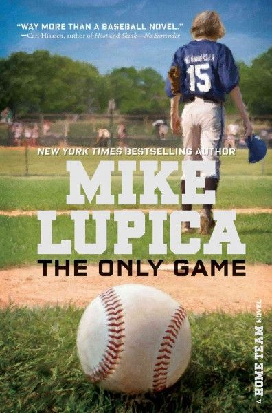 THE ONLY GAME by Mike Lupica. The only game of importance to a group of friends involves a ball and a bat. This includes Jack, outstanding Little League player, who inexplicably quits his team the season after his beloved older brother dies in an accident.