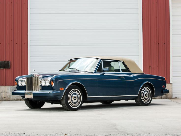 1985 Rolls-Royce Corniche Drophead Coupe by Mulliner Park Ward | Hershey 2015 | RM Sotheby's