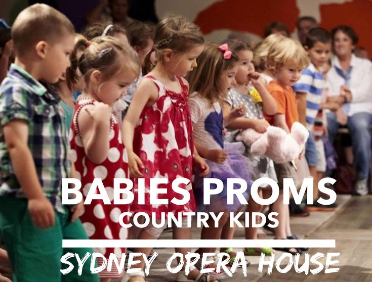 Babies Prom Country Kids at the Sydney Opera House