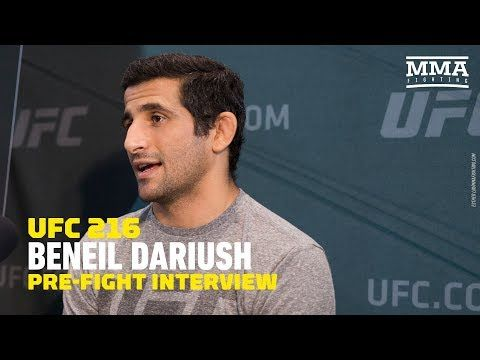 MMA Beneil Dariush Describes What it Was Like Being on Las Vegas Strip During Shooting - MMA Fighting