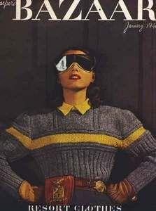 Ann Cooke sweater, c. 1940s