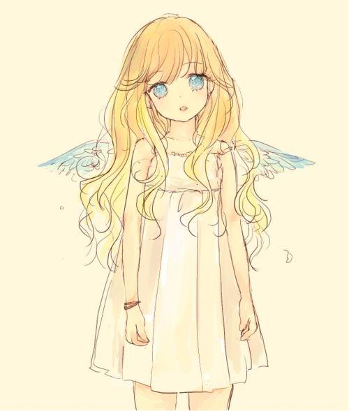 via My Darling Rainbow http://mydarlingrainbow.tumblr.com pix-original: 「angel」/「hina*」のイラスト [pixiv]