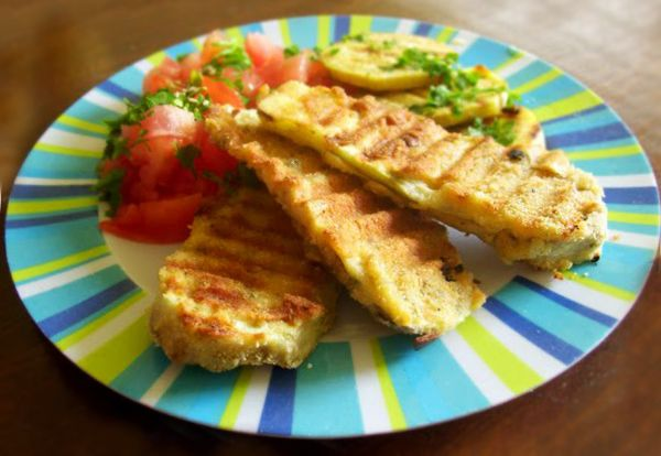 Milanesas Veganas de Berenjenas | Recetas Veganas Vegetarianas