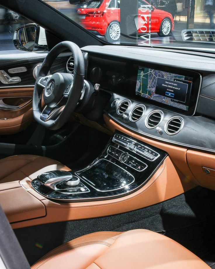 The Interior Of All Nnew E Class Embodies Synthesis Emotion And