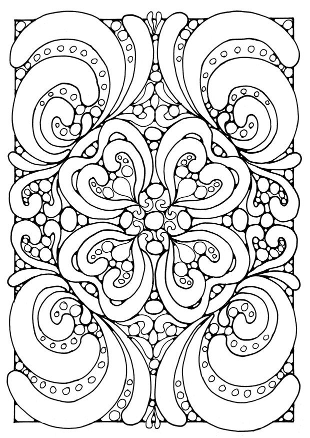 difficult coloring pages for adults difficult mandala coloring pages pictures - Difficult Coloring Pages