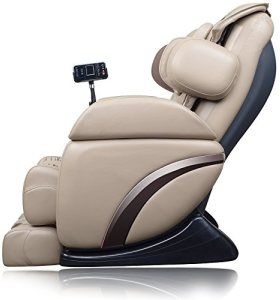 The BH Special is the quintessential modern massage chair. It has a rich leather exterior that makes the chair very comfortable to sit in even when it's turned off. The device offers numerous massage settings that range from short sessions to full-body massages that last for up to 30 minutes. Along with the variable massage settings, the device offers vibration and heat therapy that can help loosen tight muscles. Black leather exterior, 14 different combinations, shiatsu massage, Zero…