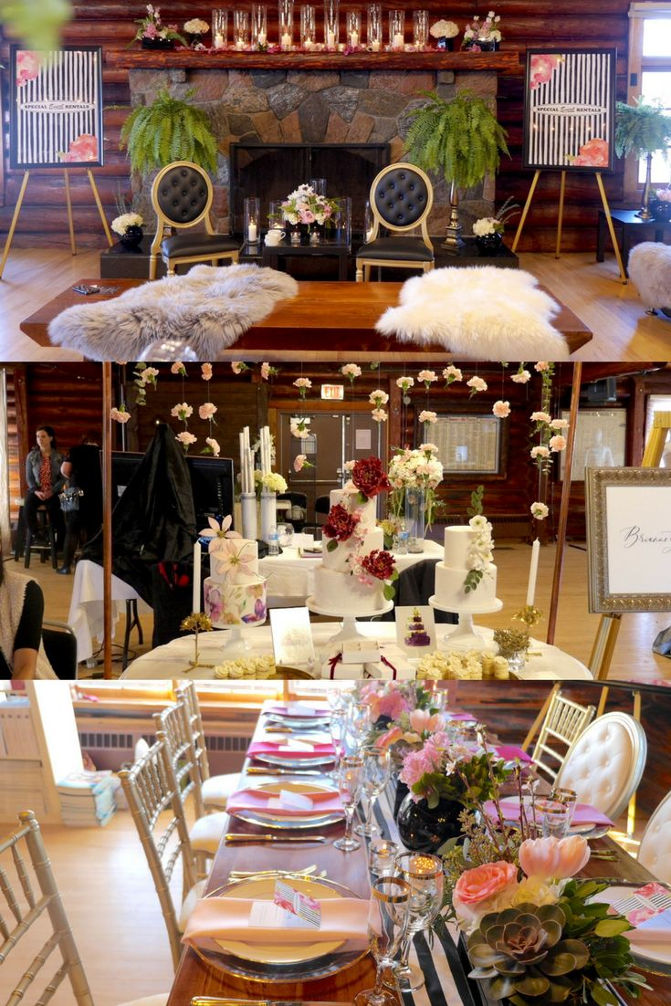 From Love in Yeg Bridal Show at the Old Timers Cabin.  Inquiries: events@oldtimerscabin.net
