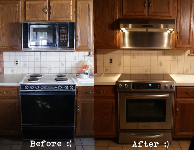 Solution For Replacing Old Over The Range Microwave With A