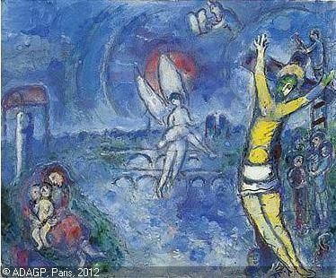 12 best Art Chagall images on Pinterest | Marc chagall ... Chagall Crucifixion Paintings