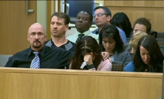 Travis Alexander's family in court during testimony in the case.