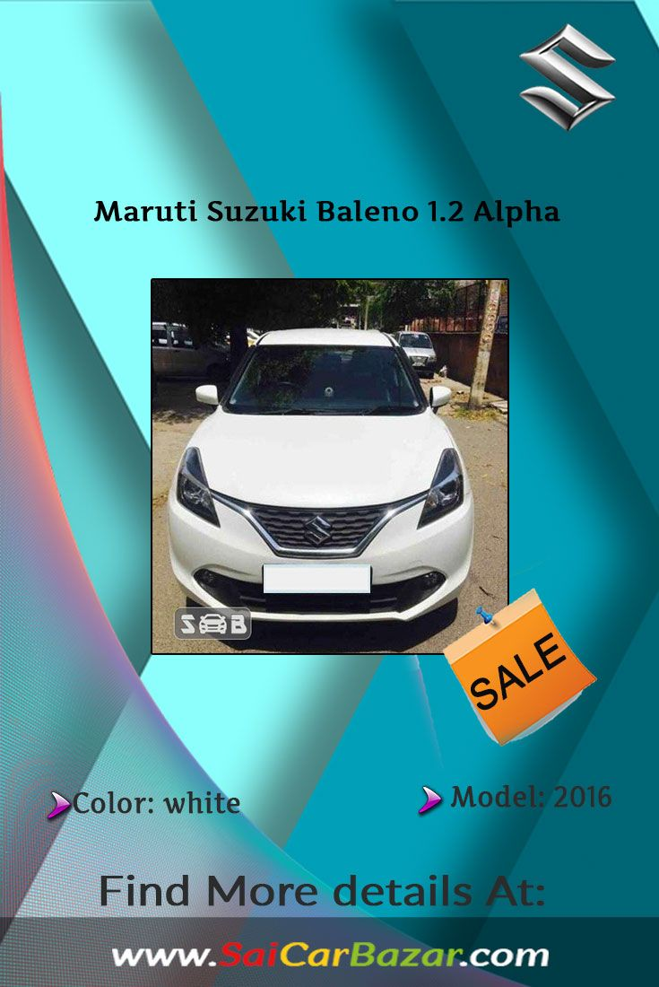 If you are waiting for second hand good conditioned Maruti Suzuki Baleno then your wait is OVER. Maruti Suzuki Baleno 1.2 Alpha, model 2016 is available for sale now!
