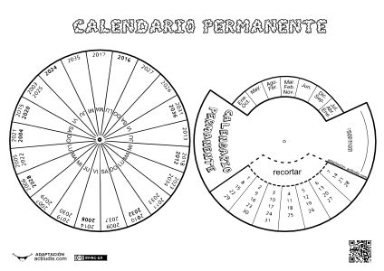 Calendario Permanente - Actiludis