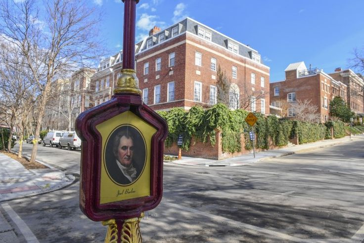 BEVERLY HILLS OF D.C. Arrivals are a big deal even in posh Kalorama, where famous names are nothing new.