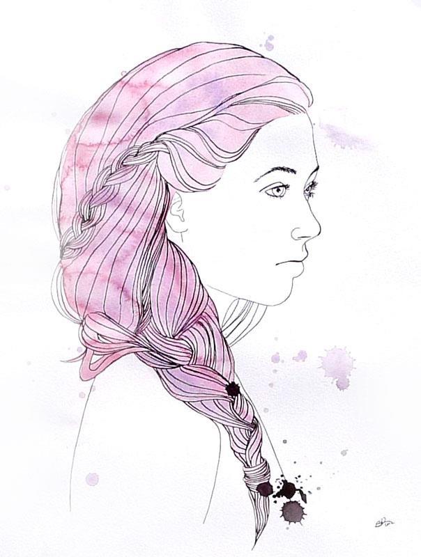 """Braid"" by Silvia Ilona Klatt"