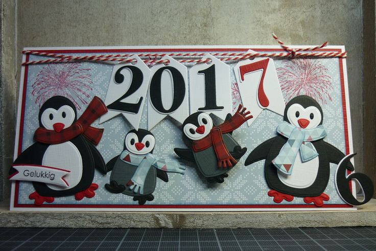 Eri's Kaartenblog!!: Gelukkig 2017!