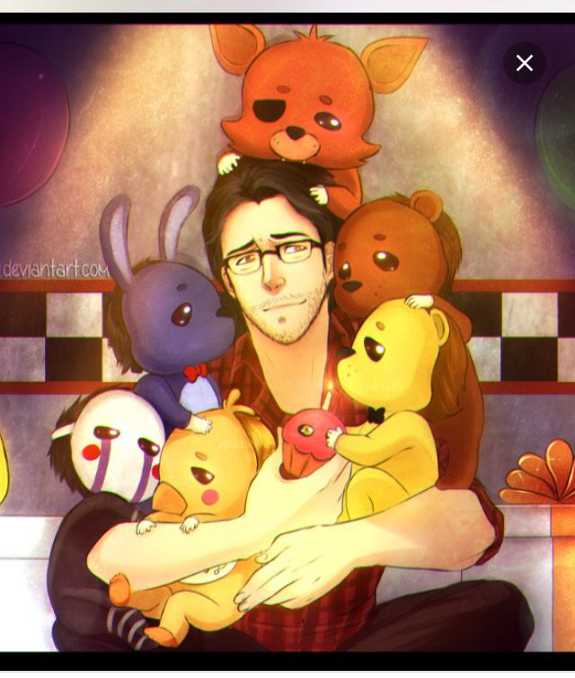 This made me so happy :,). Markiplier: the savior of Five Nights At Freddy's