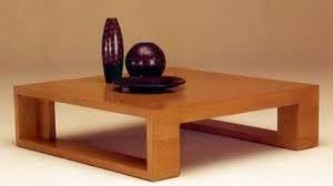 Resultado de imagen para mesas de madera modernas