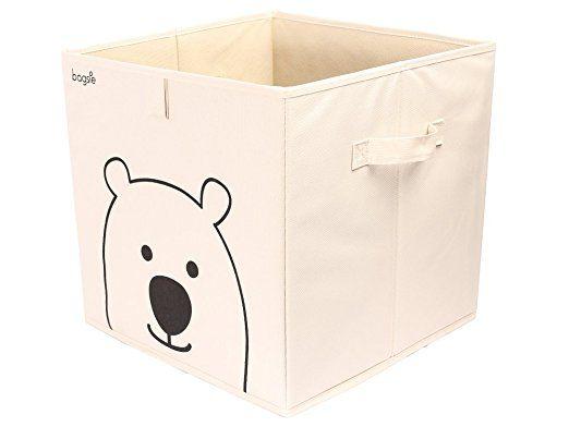 Amazon com : Bagsie's Storage Bin Cube Basket Container Box