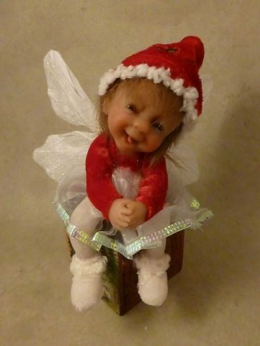 Ooak Baby Christmas Fairy Faerie Miniature BY NO TUA Lyke Collectable Unique | eBay