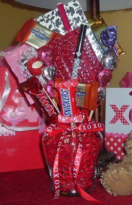 Valentine Goodie Vases .. DIY