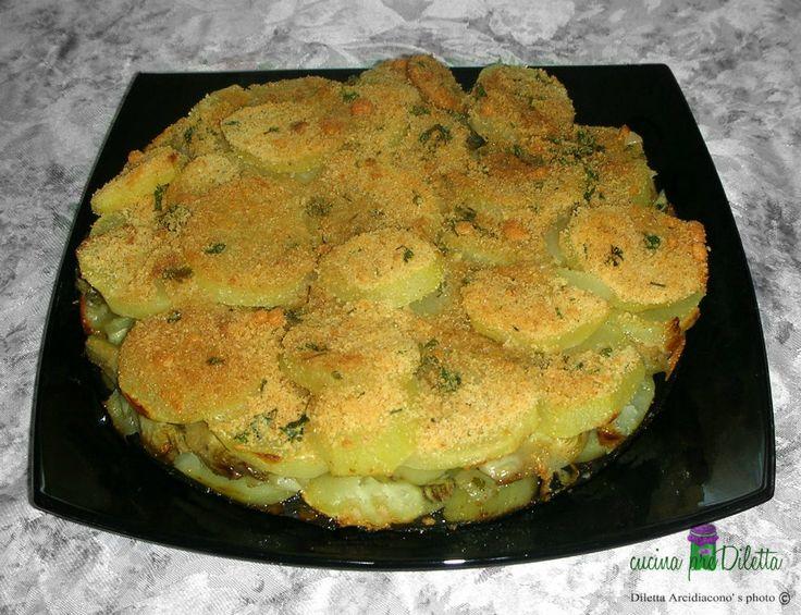 Sformato di patate e carciofi