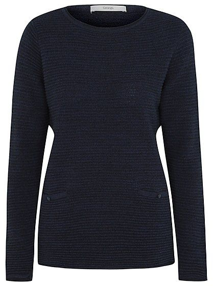 Ripple Stitch Jumper , read reviews and buy online at George at ASDA. Shop from our latest range in Women. Add a stylish spin to your knitwear with this ripp...