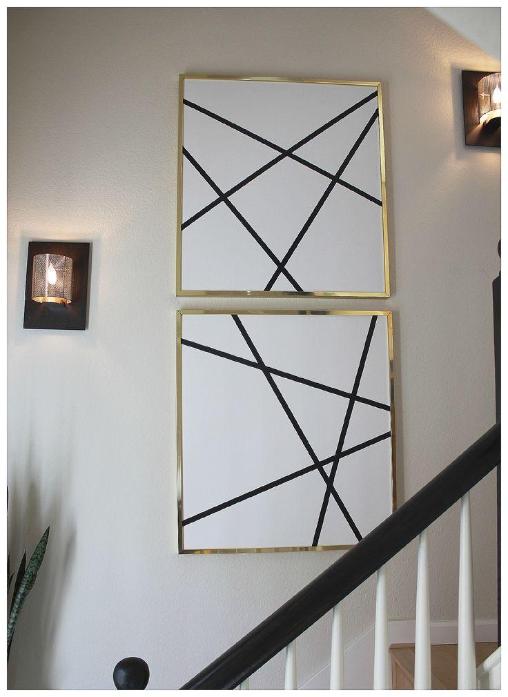 DIY | ABSTRACT ART - VIA Bungalow M.