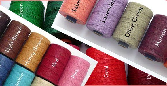 蝋引き紐蝋引き糸ワックスコード