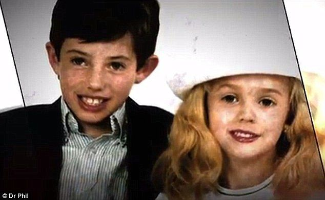 They claim JonBenet's brother Burke can then be heard asking 'what did you…