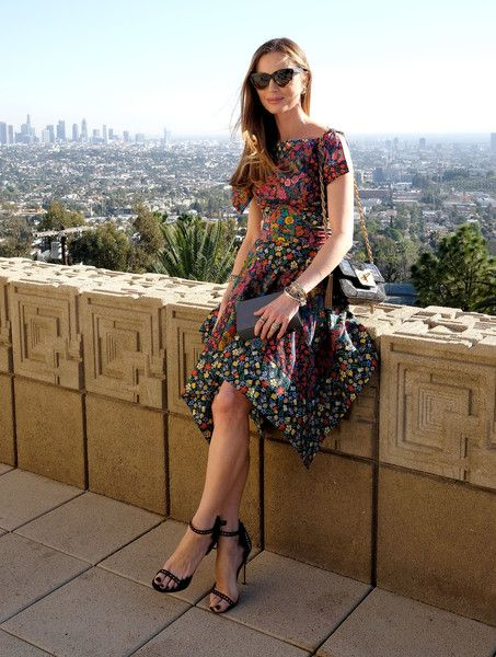 Georgina Chapman - M.A.C Cosmetics with Zac Posen Luncheon at the Ennis House - February 25, 2016