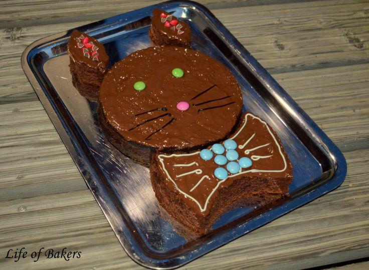 Life of Bakers  Wir haben einen Osterhasenkuchen gebacken. Er besteht aus zwei Schokoladekuchenböden und ist mit Kufertüre und Smarties verziert. Perfekt für jeden Schokoladenliebhaber und natürlich für Ostern allgemein!  #oster #hase # kuchen #osterhasenkuchen #schokolade #schoko #schokoladenkuchen #experiment #lecker