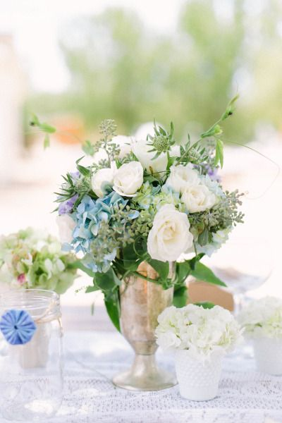 Pretty spring blooms: http://www.stylemepretty.com/california-weddings/san-diego/2015/02/23/rustic-meets-southern-charm-ranch-wedding/ | Photography: Katie Schuler - http://www.katieshuler.com/