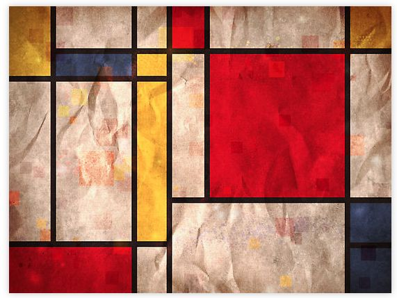 Dirty Mondrian