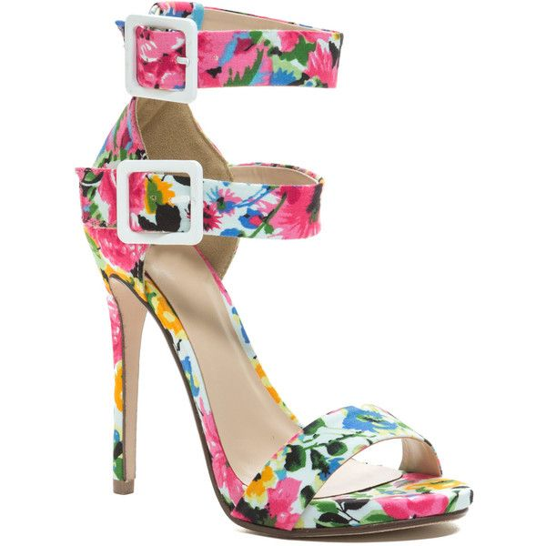 1000  ideas about Floral Strappy Heels on Pinterest   Heels, Gold ...